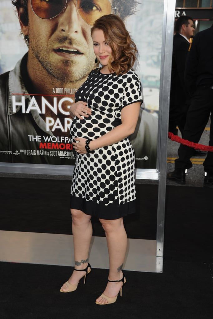 Alyssa Milano Pictures Of Pregnant Celebrities In High