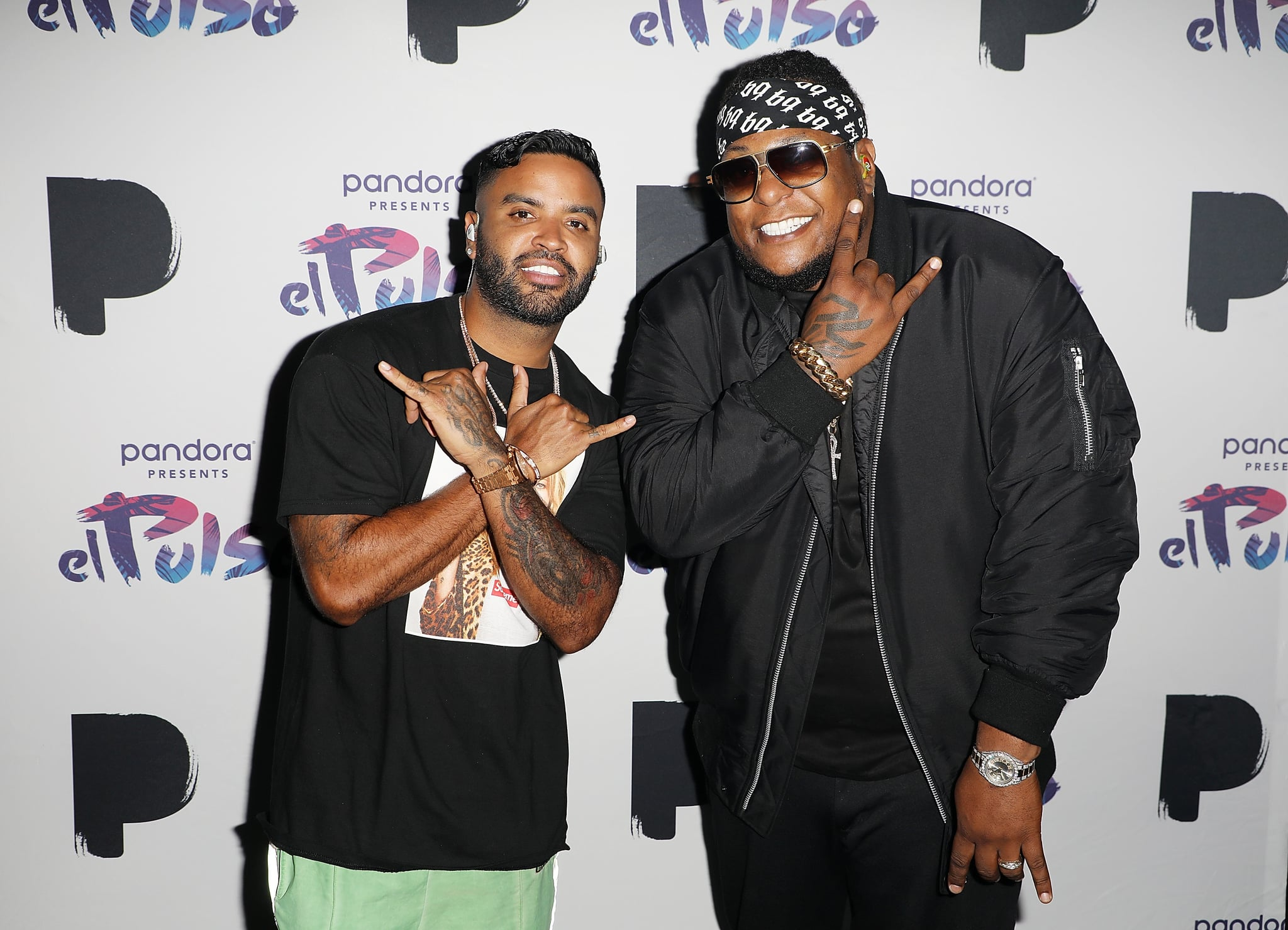 MIAMI, FL - JUNE 19:  Zion Y Lennox attend Pandora Presents El Pulso on June 19, 2018 in Miami City.  (Photo by Alexander Tamargo/Getty Images for Pandora Media)