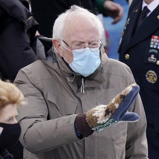 The Story Behind Bernie Sanders's Inauguration Mittens
