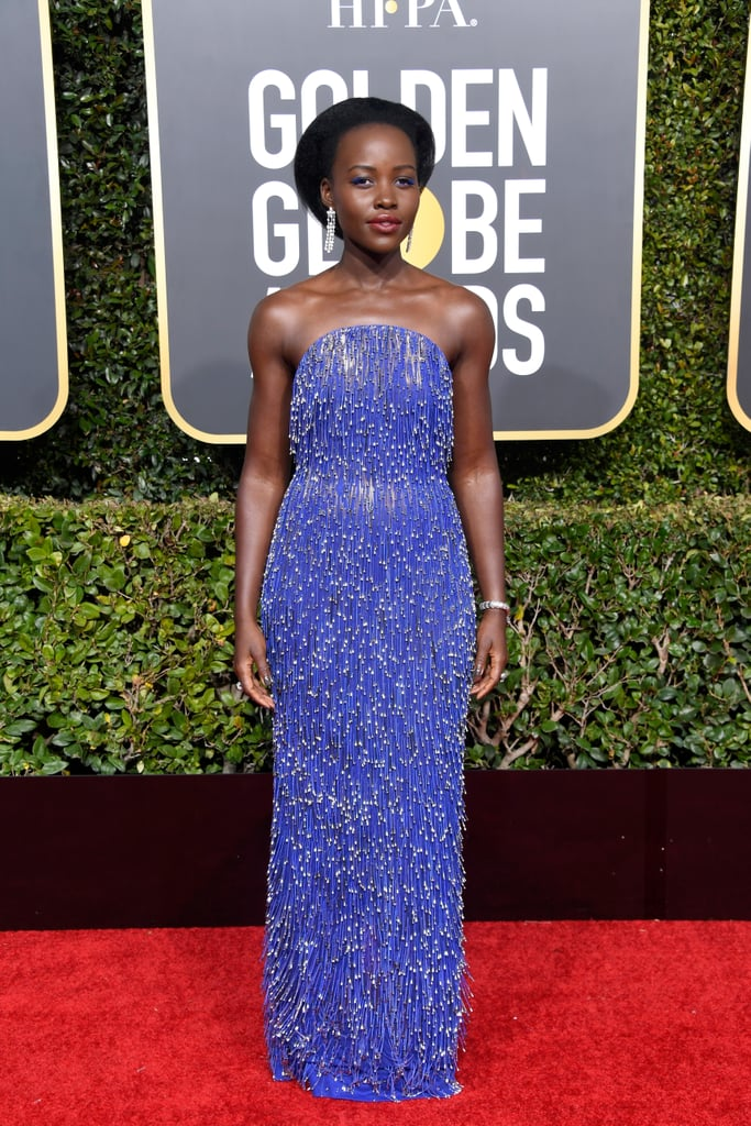 Lupita Nyong'o at the 2019 Golden Globes
