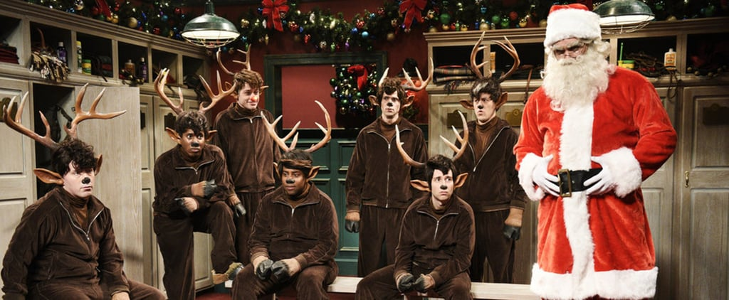 Jason Momoa in Rudolph the Red Nose Reindeer SNL Skit 2018