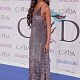 Naomi Campbell at the 2014 CFDA Awards
