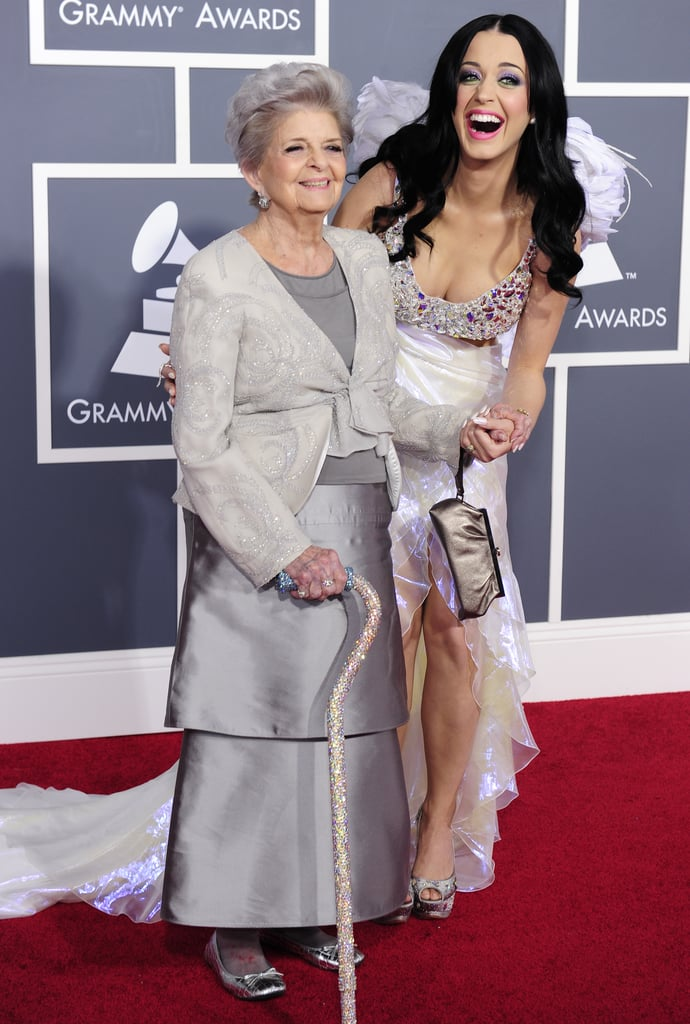 Katy Perry and her grandma