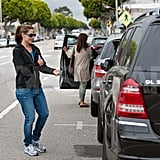 Jennifer Garner Keeps It Casual and Passes On Mom Wisdom to Rachel Zoe
