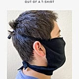 How to Make a Face Mask Out of a T-Shirt in Pictures