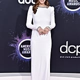Sarah Levy at the 2019 American Music Awards