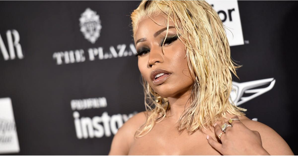 Sexy Nicki Minaj Pictures 2018  Popsugar Celebrity-7212