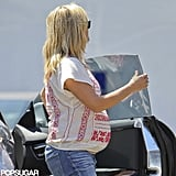Pregnant Reese Witherspoon Shows Baby Bump With Jim Toth