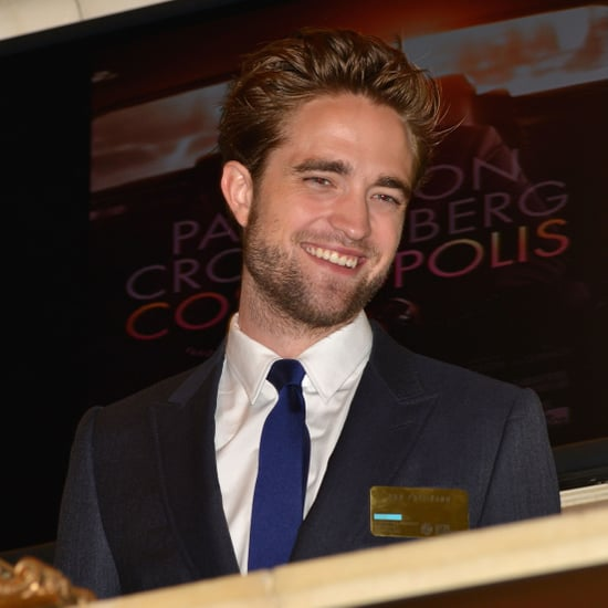 Robert Pattinson at the New York Stock Exchange | Pictures