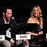 Kate Hudson and Nick Kroll were at the Film Independent at LACMA Live Read of Shampoo.
