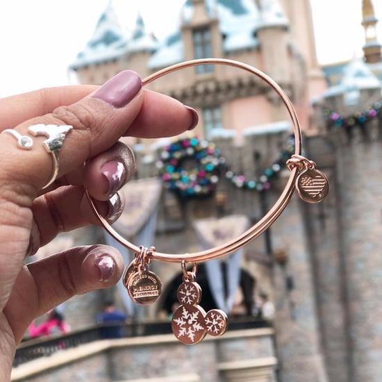 Rose Gold Alex and Ani Disney Bracelets