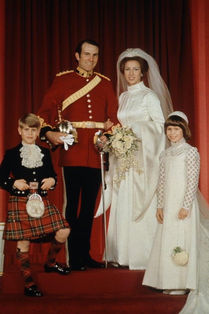 Princess Anne, 1973 | Royal Wedding Dresses Through the