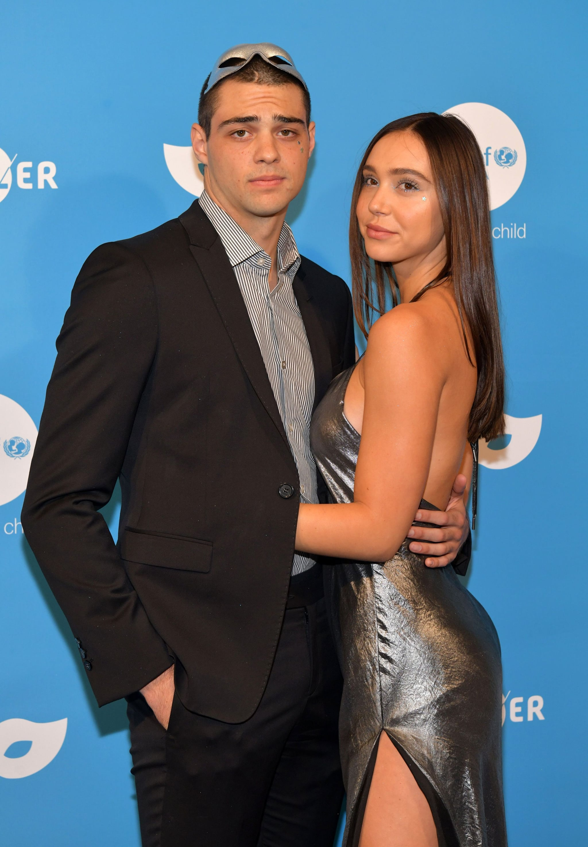 WEST HOLLYWOOD, CALIFORNIA - OCTOBER 26: Noah Centineo and Alexis Ren attend the UNICEF Masquerade Ball at Kimpton La Peer Hotel on October 26, 2019 in West Hollywood, California. (Photo by Rodin Eckenroth/FilmMagic)