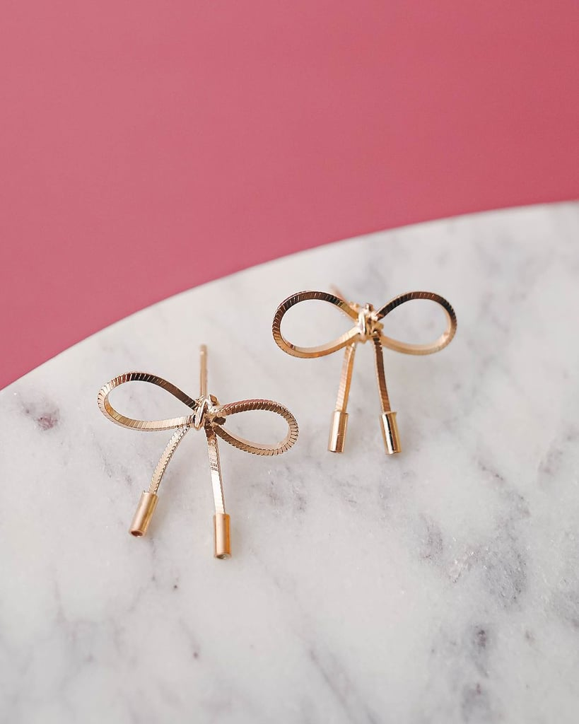Olive + Piper All Wrapped Up Bow Studs