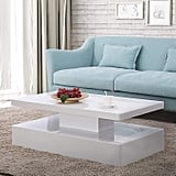 Mecor Modern Glossy Coffee Table