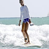 Alessandra Ambrosio was an angel in the ocean while on a Hawaiian vacation in August 2011.