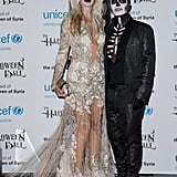 Melissa Odabash and Julien Macdonald were dead fashionistas at the 2013 UNICEF Halloween Ball.