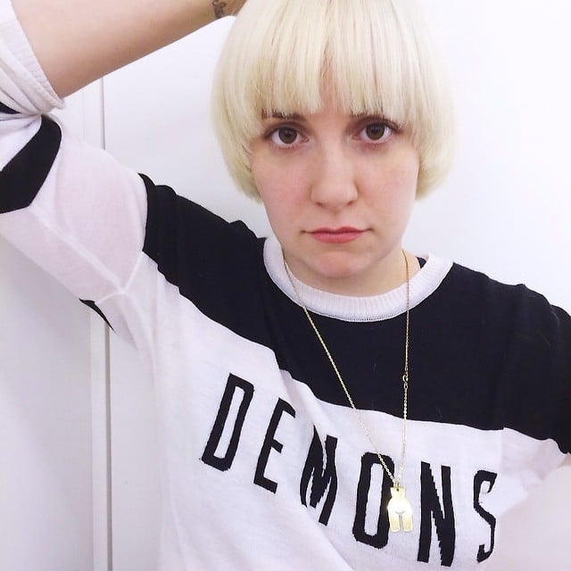 Did Lena Dunham Really Go Platinum Blond? An Investigation