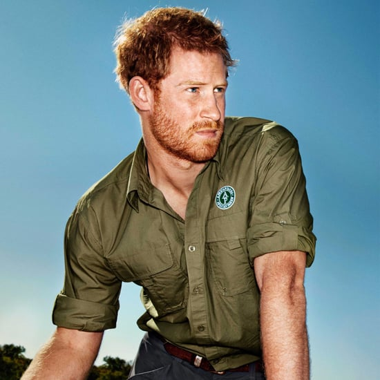 Prince Harry on Town & Country February Issue 2017