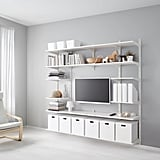 Algot Wall Upright With Shelves