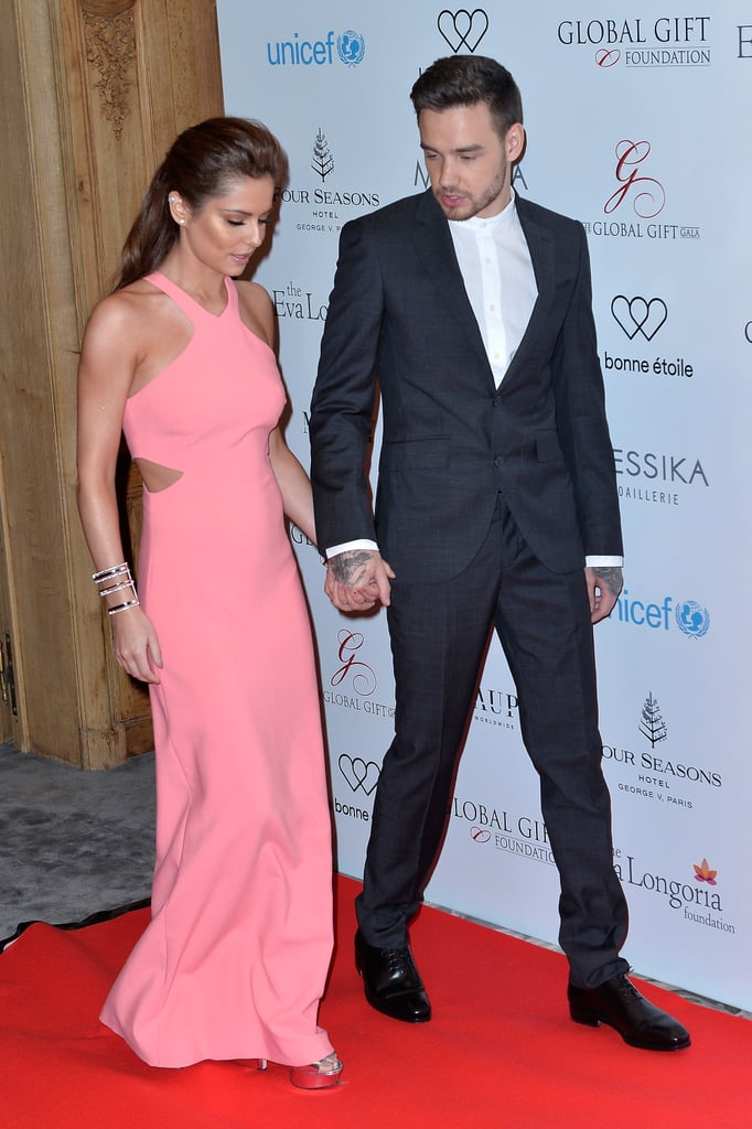 5b30e9e3a0e Liam Payne and Cheryl Fernandez-Versini at Global Gift Gala ...