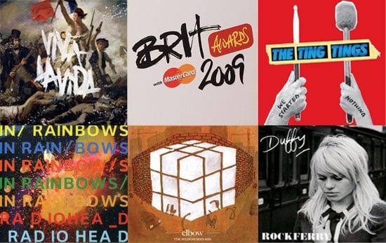 2009 Brit Awards — Best British Album Nominees