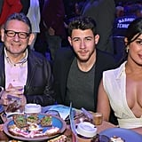 Priyanka Chopra's White Dress With Nick Jonas Feb. 2019