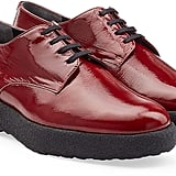 Robert Clergerie Patent Leather Oxfords ($550)