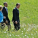 He enjoys long walks through the tall grass with world leaders.