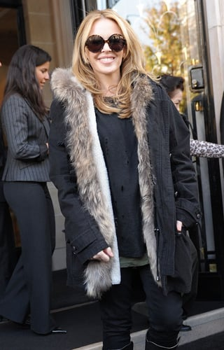 Faux Fur-Lined Jacket Trend | POPSUGAR Fashion