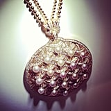 How stunning is this pendant from Cartier?