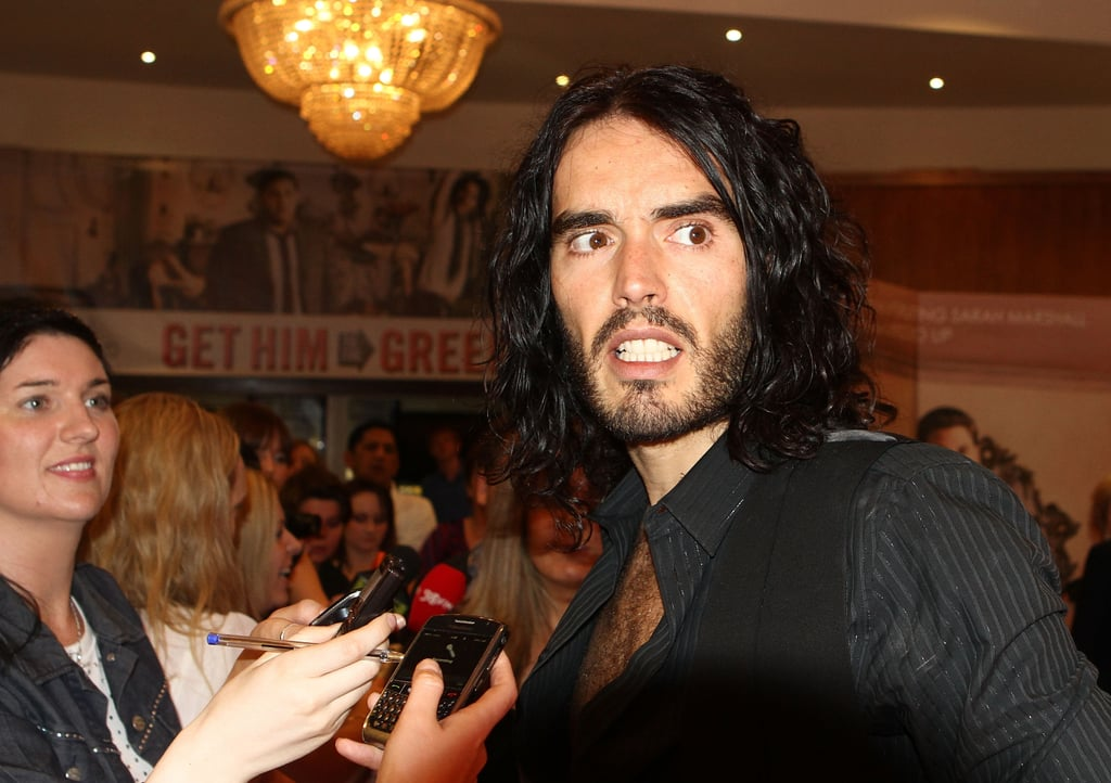 Pictures of Russell Brand and Jonah Hill at Get Him to the Greek Premiere in Dublin