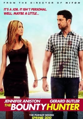UK Poll and Movie Trailer for The Bounty Hunter starring Gerard Butler and Jennifer Aniston — Will You See it or Skip it?