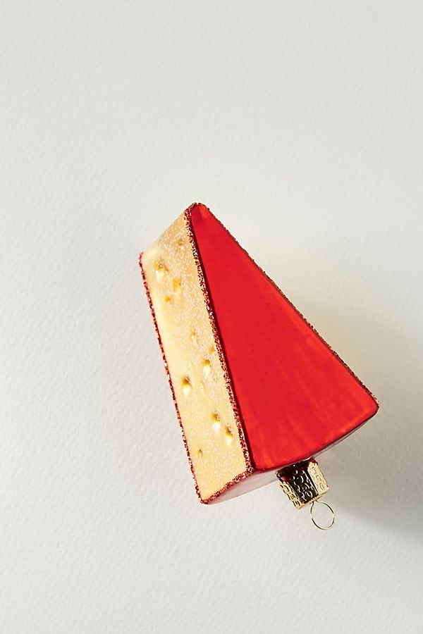 Cheese Wedge Ornament