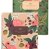 Vintage Blossoms Notebooks ($14, set of two)