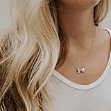 Sterling Silver Farfalle Necklace ($99)