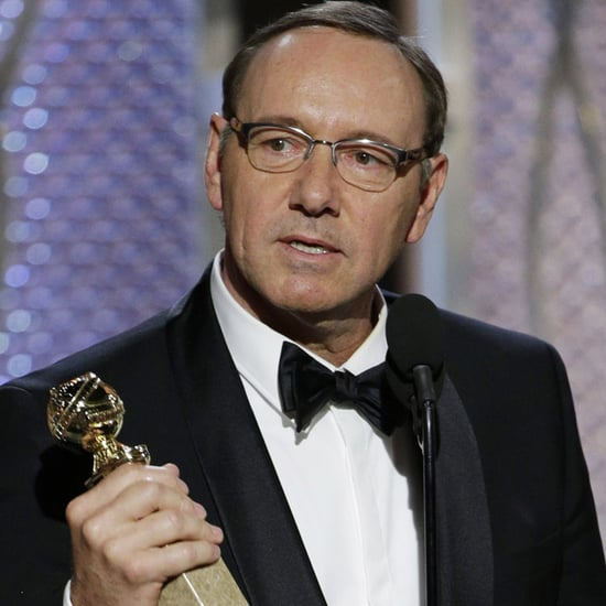 Kevin Spacey Swears at the Golden Globes 2015