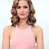 An award show isn't complete without a hair colour remix. Rose Byrne showed up with extreme blonde highlights for a new frosted look.