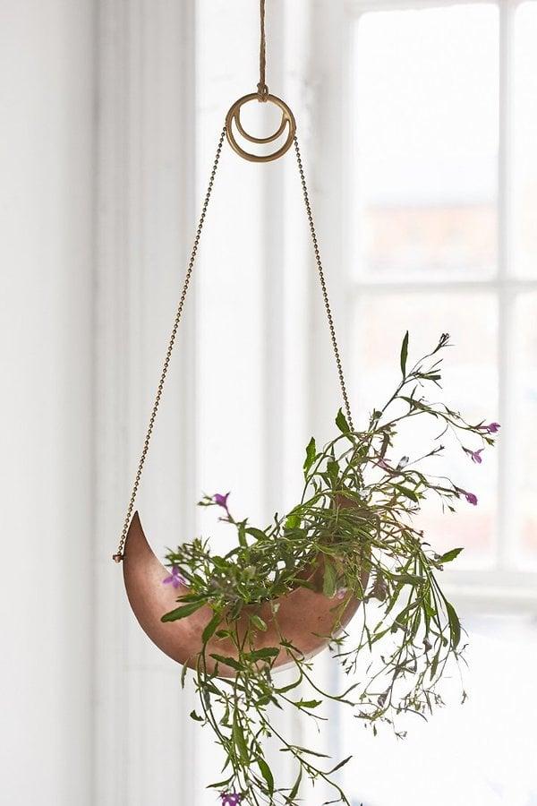 Crescent Hanging Planter