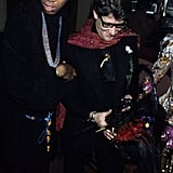 Do you recognize the young man with YSL? That's none other than André Leon Talley with the designer in 1978.