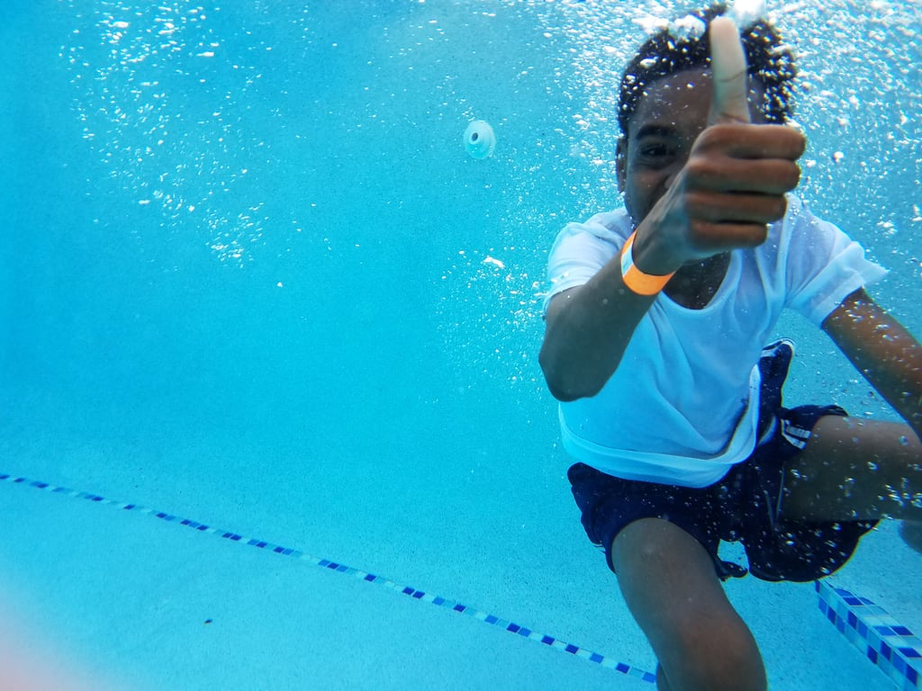 Once your child can successfully float and hold their breath, more advanced skills can be taught.