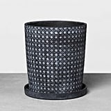 Black Caning Planter