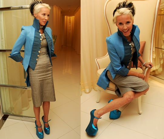 Photos of Daphne Guinness and Dorchester Hotel Fashion Prize Semi Finalists Announced