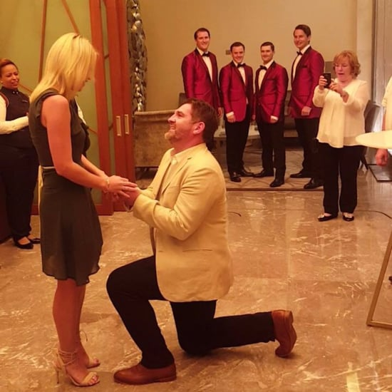 Jersey Boys Help Dubai Opera Marriage Proposal