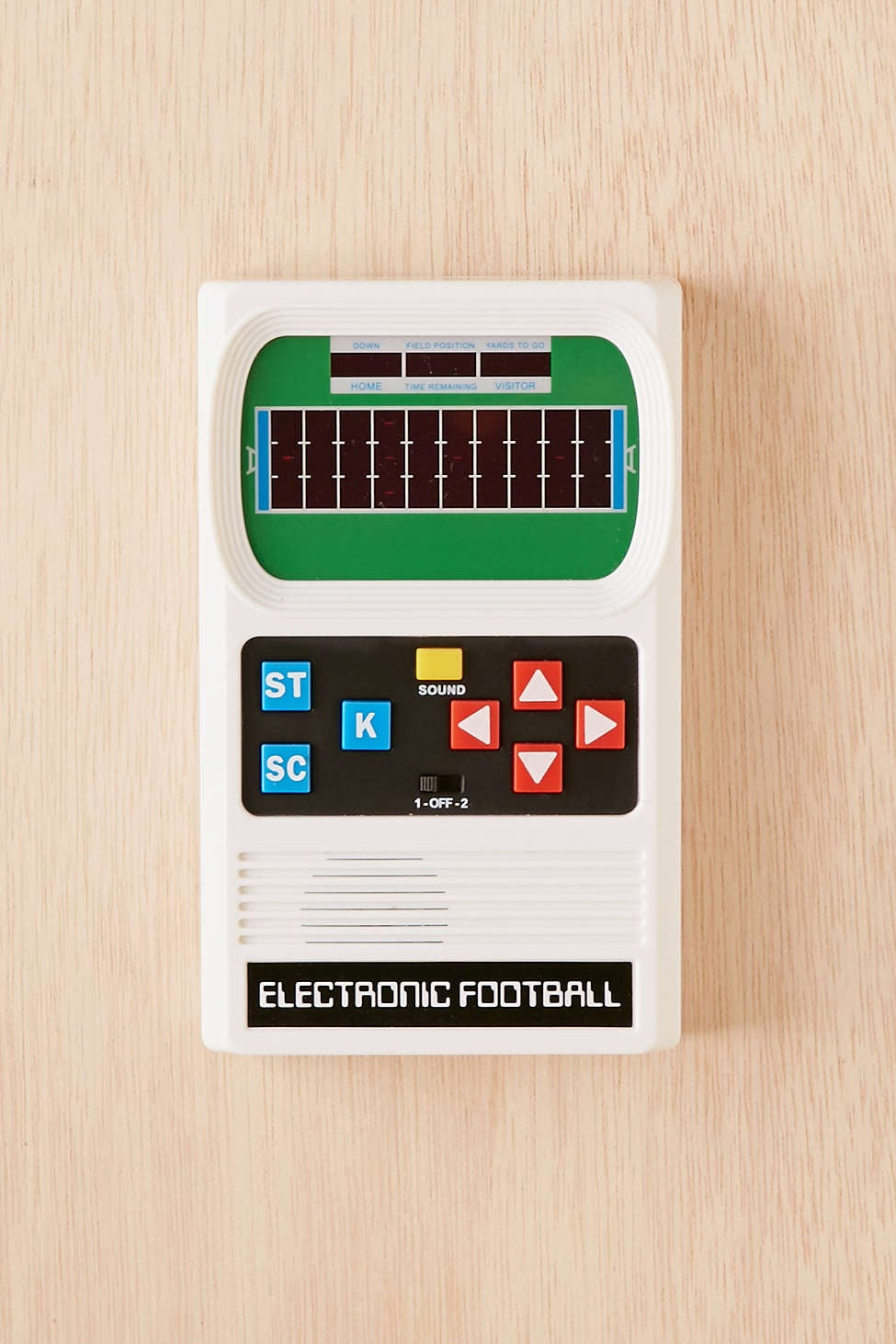 Retro Handheld Football Electronic Game 106 Cool Gifts For Teens