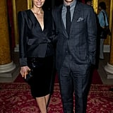 Justin and Jessica attended the Tom Ford Fall 2013 runway show in London in February.