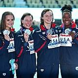 US Women Win Silver in the 4x200m Relay