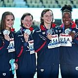 US Women Win Silver in the 4x200m Relay
