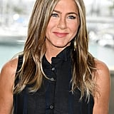 Jennifer Aniston at the Murder Mystery Photo Call in California