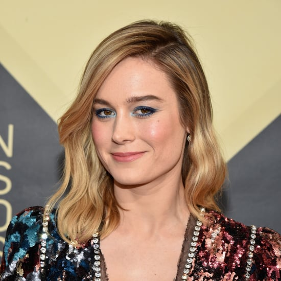 Brie Larson's Eye Makeup at the 2018 SAG Awards